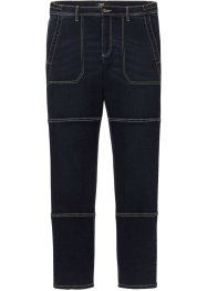 Regular fit stretch worker jeans met comfort belly fit, straight, bpc bonprix collection