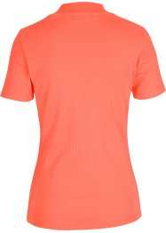 Geribd shirt met opstaande kraag, bpc bonprix collection