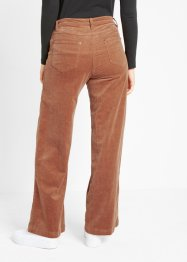 Corduroy broek in Marlene Dietrich stijl, bpc bonprix collection