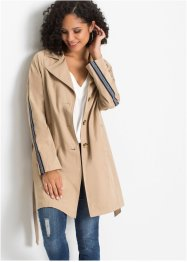 Trenchcoat met gedessineerde tape, BODYFLIRT