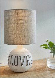 Tafellamp Love, bpc living bonprix collection