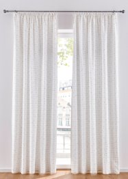 Jacquard gordijn met goudgaren (1 stuk), bpc living bonprix collection