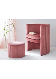 Fauteuil en hocker (2-dlg. meubelset), bpc living bonprix collection