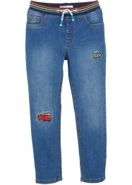 Jeans met automotieven, regular fit, John Baner JEANSWEAR