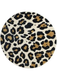 Rond vloerkleed met luipaardprint, bpc living bonprix collection