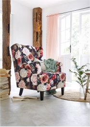 Oorfauteuil met bloemenprint, bpc living bonprix collection
