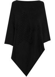 Poncho met ster, bpc bonprix collection
