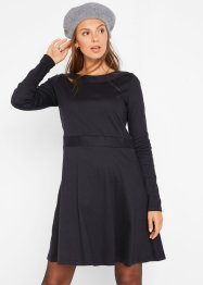 Jersey jurk met boothals, bpc bonprix collection