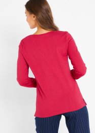 Longsleeve met V-hals, bpc bonprix collection