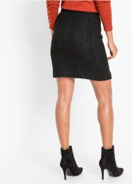 Tweed rok met lurex, BODYFLIRT