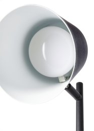 Staande lamp met usb zwart, bpc living bonprix collection