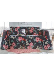Sprei met bloemenprint, bpc living bonprix collection