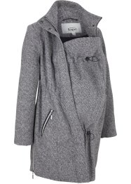 Korte zwangerschaps coat / draagjas in wollen look, bpc bonprix collection