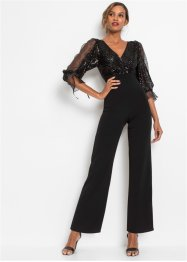 Jumpsuit met pailletten, BODYFLIRT boutique
