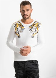Longsleeve, slim fit, RAINBOW