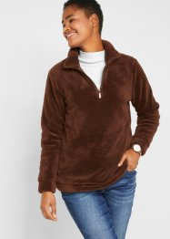Teddy fleece trui met ritssluiting, bpc bonprix collection