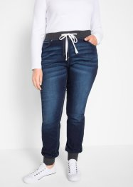 Boyfriend stretch jeans met comfortband, bpc bonprix collection