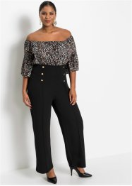 Jumpsuit met knopen, BODYFLIRT boutique