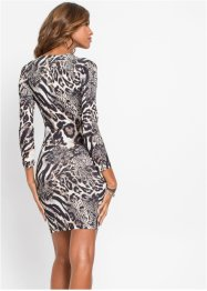 Jurk met animalprint, BODYFLIRT boutique