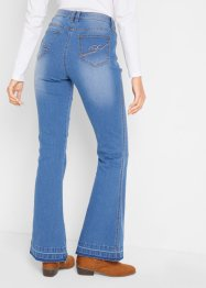 Ultra soft bootcut jeans met comfortband, bpc bonprix collection