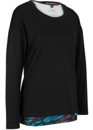 2-in-1 sportshirt, lange mouw, bpc bonprix collection