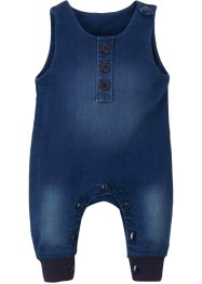 Baby sweat jumpsuit in denim look, John Baner JEANSWEAR