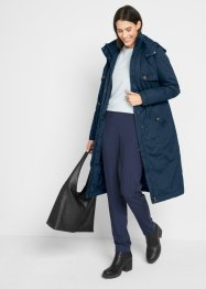 Lange trenchcoat met capuchon, bpc bonprix collection