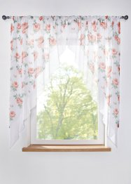 Gordijn voor klein raam met bloemenprint (2-dlg. set), bpc living bonprix collection