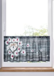 Valletje met een digitale print met bloemen, bpc living bonprix collection