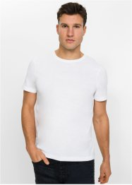 T-shirt met print op de rug, slim fit, RAINBOW