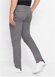 Slim fit chino in glanzende look, straight, RAINBOW