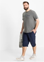 Lange cargo bermuda met comfort belly fit, regular fit, bpc bonprix collection