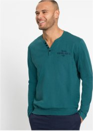 Henley shirt met comfort belly fit, lange mouw, bpc bonprix collection