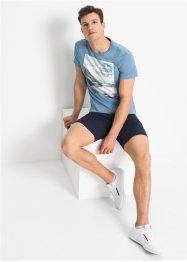 Lange stretch short, slim fit, RAINBOW