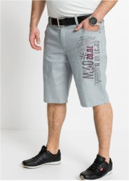 Regular fit stretch bermuda met print, bpc selection
