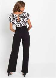 Jumpsuit in wikkellook met print, BODYFLIRT boutique