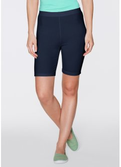 Fietsbroek (set van 2), bpc bonprix collection, donkerblauw+zwart