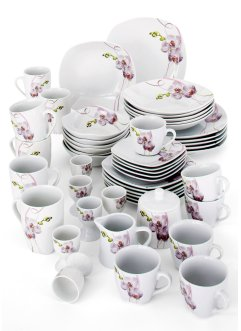 Servies «Orchidee», bpc living, Combinatieservies, 50-dlg.