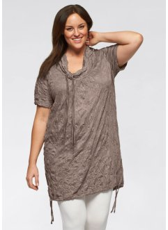 Longshirt, bpc bonprix collection, taupe