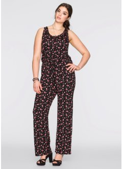 Jumpsuit, BODYFLIRT, zwart gedessineerd