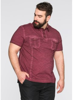 Poloshirt, bpc bonprix collection, ahornrood