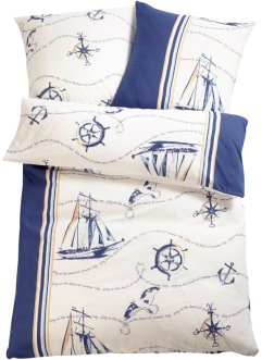 Dekbedovertrek met maritiem dessin, bpc living bonprix collection