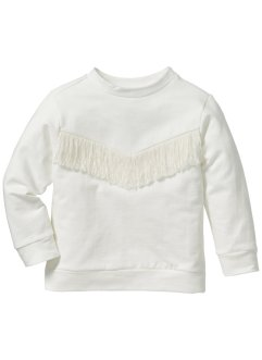 Sweatshirt, bpc bonprix collection, crèmewit
