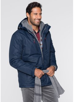 3in1-allweatherjack, bpc bonprix collection, donkerblauw