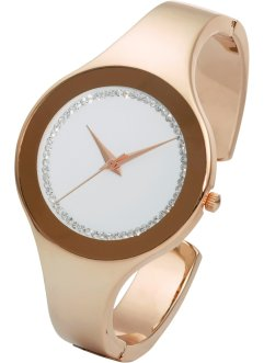 Horloge, bpc bonprix collection, roodgoudkleur