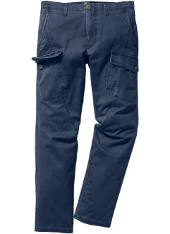Cargobroek regular fit, bpc bonprix collection, donkerblauw