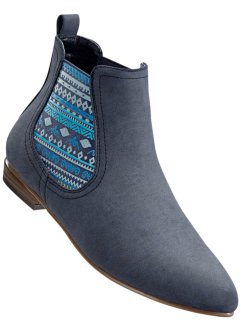 Chelseaboots, bpc bonprix collection, blauw