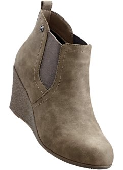 Enkellaarsjes, bpc bonprix collection, taupe