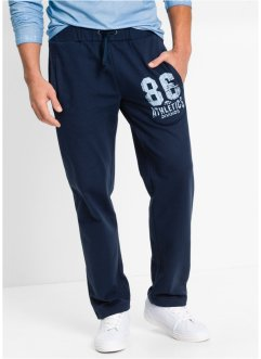 Sweatbroek regular fit, bpc bonprix collection, donkerblauw