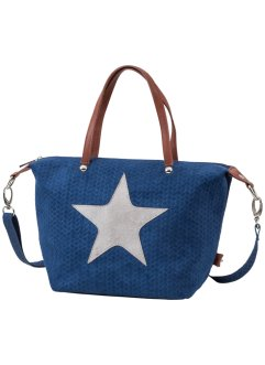 Tas «Ster», bpc bonprix collection, blauw